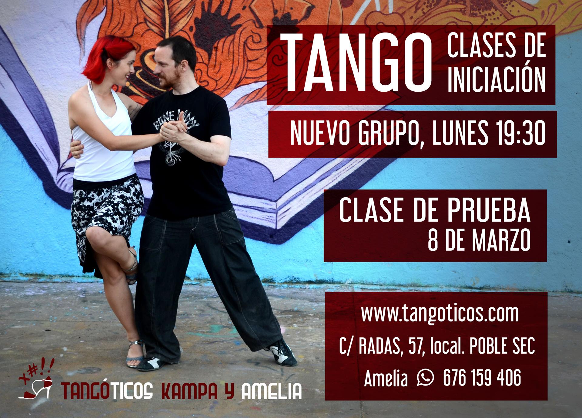 Clases de Tango Barcelona
